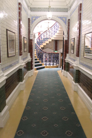Channing Hall staircase