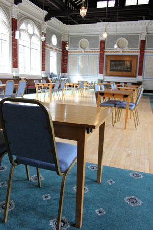Channing Hall conference facilities Sheffield
