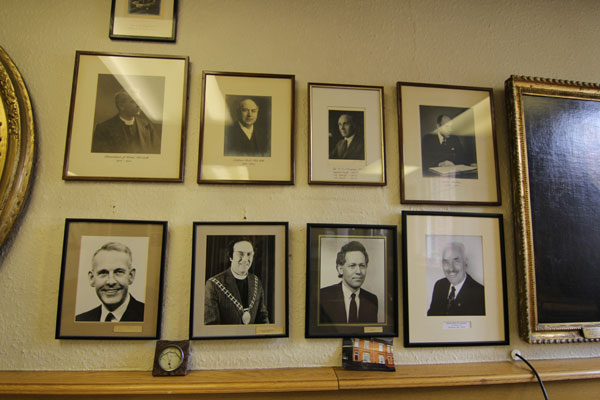 Gallery of past Ministers of Upper Chapel